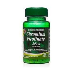 200 ug Pikolinian Chromu 250 Tabletek