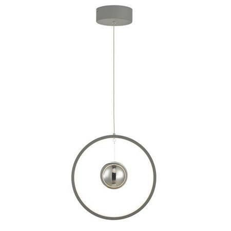 MERCURY 1LT Lampa Sufitowa VERTICAL Kolor Szary LED