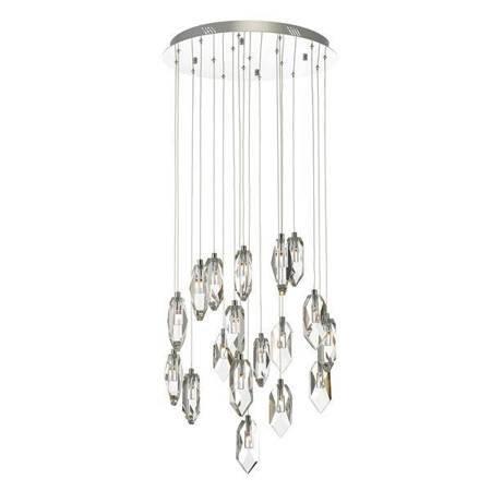Motyw Kryształowy 18LT Lampa Sufitowa Motyw Kryształowy LED